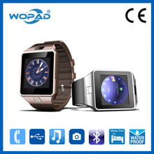 Lady smart watch with rose gold watch bands, smart watch for ios and android