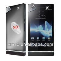 Diamond quality LCD screen protectors for sony xperia s lt26i