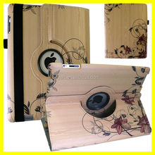 DIY Sublimation Flower Customize image Printer 360 Rotating for ipads 6 pu leather Printing Case Manufacturer Wholesale Hot New