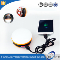 5W ABS Small Camping Rechargeable Emergency Led Lamp, Portable LED Emergency Light