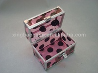 Cosmetic case with brush holder, cosmetic case pen pouch, makeup organizer case