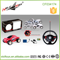 Hot Selling Bounce Rollover 8 functions 1 14 Scale RC Stunt Car