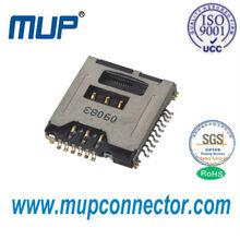 MUP-M618 Push type SIM+TF card connector