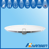 lowest price Top quality SMD2835 slim 12w 15w 18w round led led downlights ultra thin design high quality round led panel light