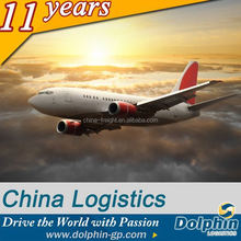 Dolphin free sample logistics air freight rates from china to russia