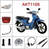 AKT 110S motorcycle spare part Carburetor & Crankshaft & Connecting rod & Engine clutch