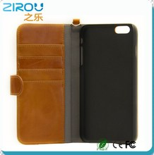 For iPhone 6 Fashion Wallet Flip PU Leather Case for Apple iPhone 6 4.7 Plus 5.5 Phone Bags With Card Slot & Photo Frame Stand