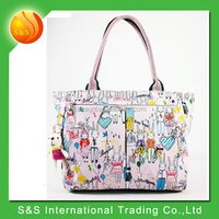 New Arrival Polyester Shopping Bag Printed Tote Bag