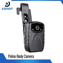 Waterproof GPS / GPRS police body worn digital camera