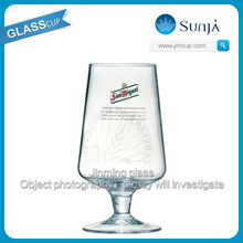 10oz San Miguel Pint To Brim Chalice Clear Wine Goblet