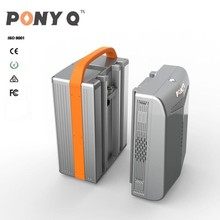 1KWh Portable Lifepo4 Battery Power Bank / 12V 100AH Power Pack / Lithium ion Solar Storage System with 220V Output for Home Use