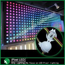 30mm ws2811 led dot light led video wall programmable