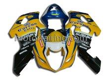 ABS motorcycle fairings for Suzuki 03-04 GSXR1000 K3