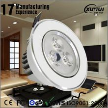 High luminous flux 13w led downlight