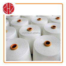 Polyester Yarn Raw white and dyed for knitting