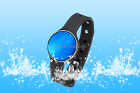 wholesale CE RoHS led smart band, bluetooth diamond Waterproof Ladies Watches with alarm clock