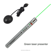 Page up down 5mw green laser presenter