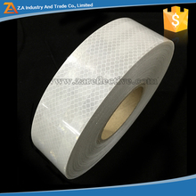 Strong Reflection At Night Micro Prismatic Diamond Shape White Reflective Tape