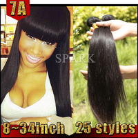 Hot Sale 100% Unprocessed Straight Brazilian Hair Styles Pictures