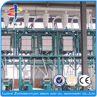 Automatic factory 100t/24h maize grinding mill