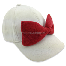 Cotton Baby baseball cap with big bowknot children baseball cap