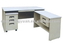 2013 Hot sale metal office table with drawers on side