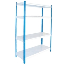 Best selling rivet boltless rack/Iron metal storage slotted angle/High quality slotted angle multi-tier Shelving