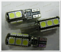 Hot sale and super bright !T10 234 LM 5050 13Smd W5W Error Free Canbus Led Side Light Lamps