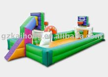 2011 hot Inflatable football and basketball field