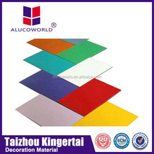 Alucoworld Offering carport light weight Aluminum Composite Panel cork walls panels