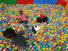 Amusement park sea ball for big ball pit/ nontoxic sponge ball for kids/ newly-design play ball for children
