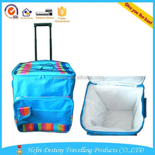 Promotional 24 beer can picnic trolley cooler bag