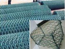 Galvanized gabion basket / galvanized gabion / anping hexagonal mesh