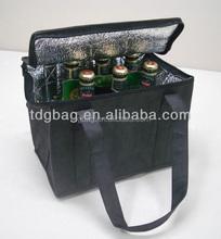 2015 beer cooler bag, insulating effect cooler bag,disposable cooler bag