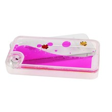 New design flowing case shell case 3d transparent hard plastic cover for phone