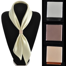 2014 New Arrival Quality Silk Scarf Buckle Elegant Square Tube Ring Accessories Jewelry