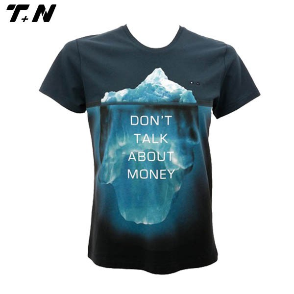 All over sublimation short sleeve t shirt wholesale full for Full size t shirt printing