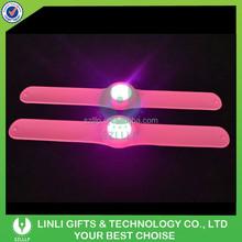 280*30MM Silicone LED Slap Bracelet, Lighting LED Slap Bracelet, Glow LED Slap Bracelet