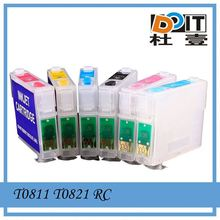 Buy wholesale direct from china TX659 inkjet ink cartridge for Epson T0811 T0821