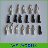 1:50 scale arab white&black figure Plastic hobbies Arabia human figure FC-46