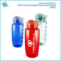 800ML Unbreakable Plastic Water Bottle BPA Free