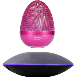 LED levitation mini bluetooth wireless speaker and new design magnetic floating bluetooth