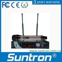 Suntron U602TD True Diversity FM Wireless Microphone with Wide Band FM