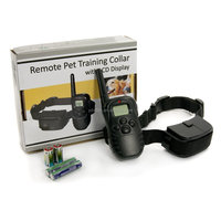 300 Meters Remote Control Dog Training Collar With LCD Display