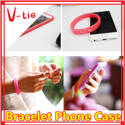 Best manufacturing idea for iphone 6 case, multifunction bracelet phone case for ip6