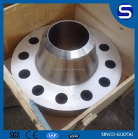 ANSI B16.5 forged long weld neck flange dimensions