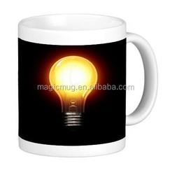 Classic Light Bulb 11 ounce Ceramic Coffee Mug Tea Cup