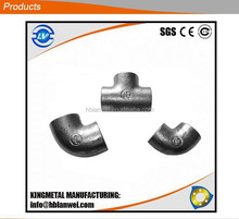 Alibaba hot selling malleable iron pipe fittings elbows tees