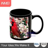 6oz white sublimation coated mug/photo blank mug