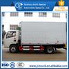 China New Dongfeng freezer box truck manufacturing company